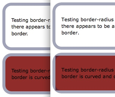 Border radius html